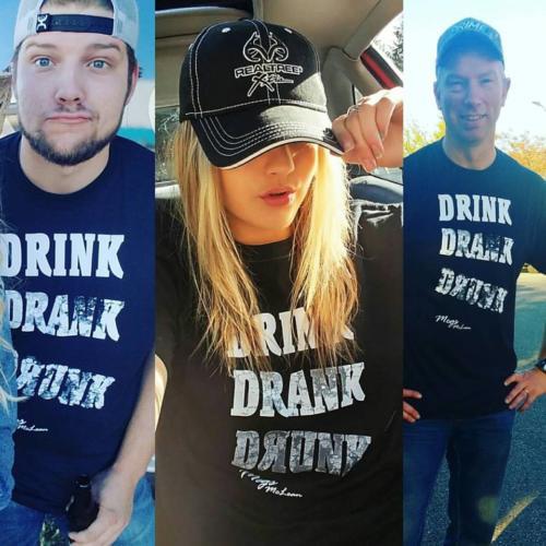 drink drank drunk shirt
